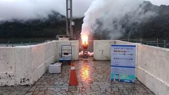 锋面快速通过台湾 水利署把握机会人工增雨