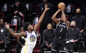 NBA》籃網擊潰勇士 創隊史開幕戰最大勝分差