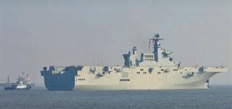 影》快馬加鞭 075型2艦首度海試 解放軍登陸能力大增