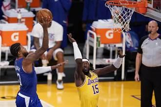 NBA》笑拿冠軍戒後湖人不敵快艇 苦吞開幕戰4連敗