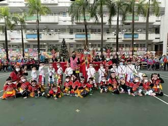 都會區校園舉辦豐年祭 180幼生圍圈跳大會舞