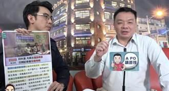 高思博宣布25日與蘇偉碩赴監院  向陳菊、田秋堇陳情