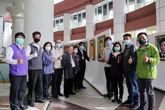 國寶手繪看板大師 5個月繪製50位台南縣市正副議長肖像