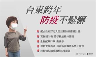 阿妹台东跨年演唱会 防疫不松懈
