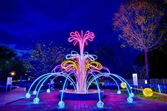 台中石岡花漾藝術節12/26點燈 食水嵙溪首推燈光音樂秀
