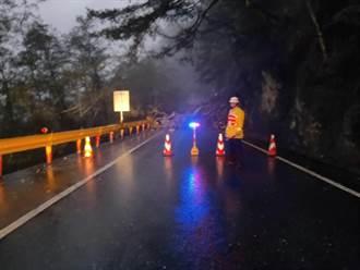 大雨不斷花蓮公路狀況多 台11、台8分傳道路坍方