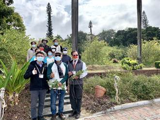 臺南社大用10年守護百年公園 設計入園階梯營造毛柿樹穴