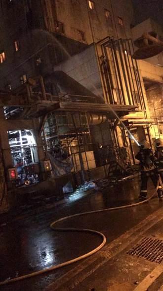 台肥台中廠馬達起火延燒 警消灌救撲滅無人傷亡