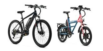 安耐美 推雙功能打浪電輔自行車