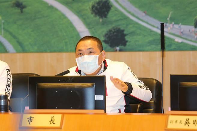 新北升格十年 新北提2030願景要帶動台灣發展。(葉德正攝)
