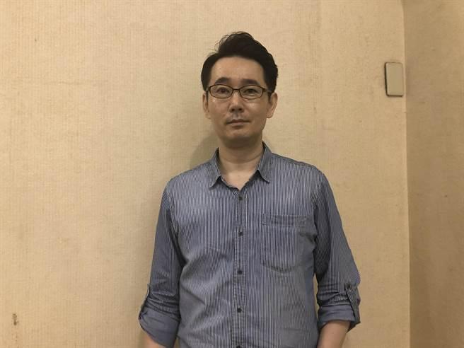 國民黨副祕書長黃奎博。(趙婉淳攝)