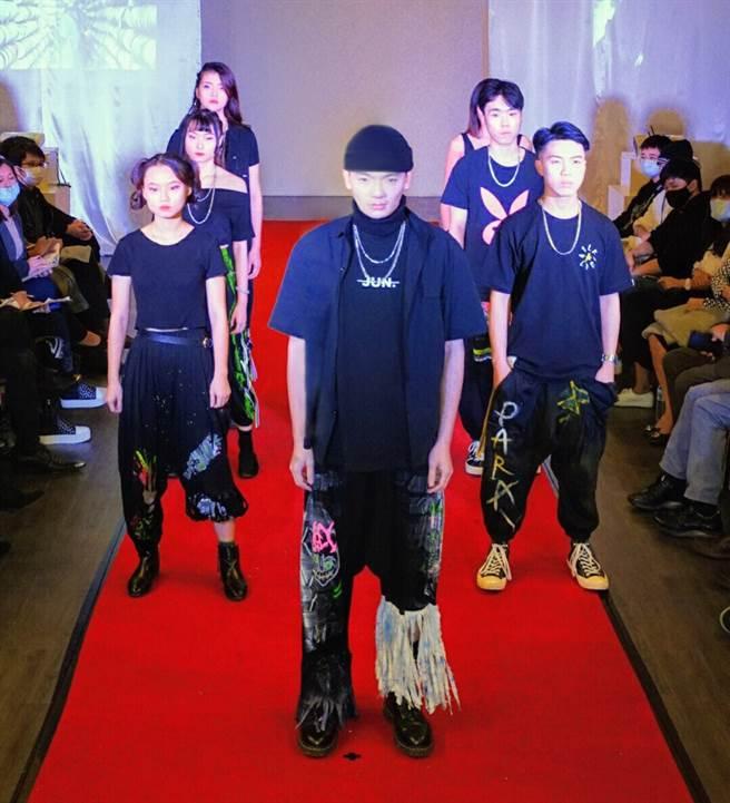 聖約翰科技大學時尚經營管理系舉辦【我是設計師】時尚設計競賽活動,由學生一手策劃執行。