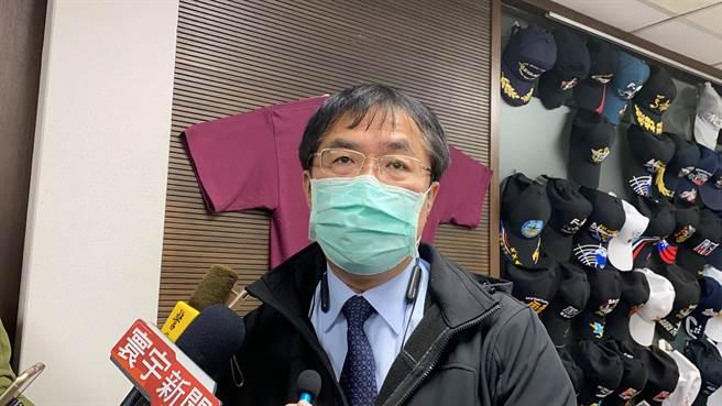 台南市接下來有3場演唱會都照常舉辦,市長黃偉哲強調一切以防疫為優先。(曹婷婷攝)