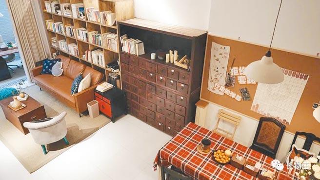 共享公寓內的客廳。(取自長物庄微信公眾號)