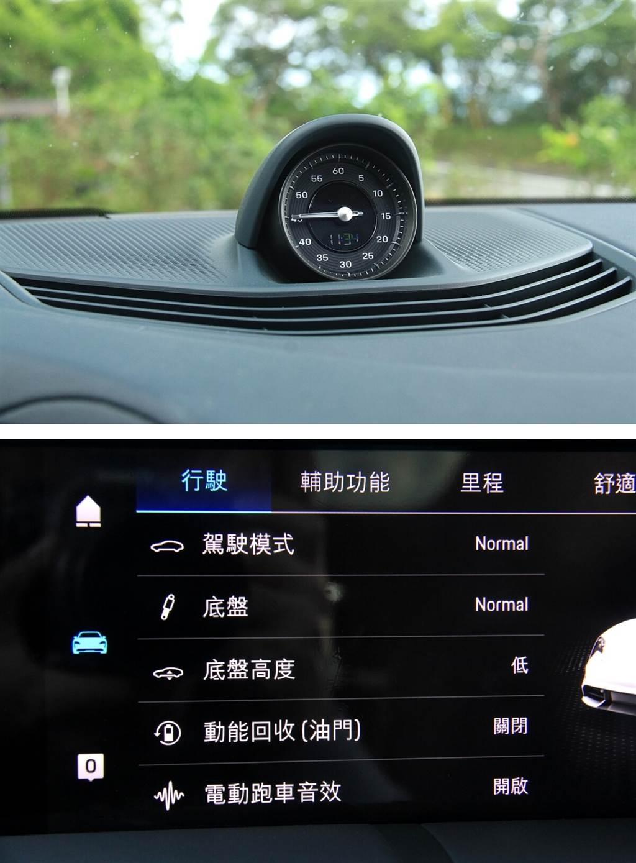 須加價3.18萬的電動跑車聲浪套件,幾乎是每位車主必選的配備,不僅可擁有不同於內燃車的聽覺享受,對於行車安全也提供更好的保障。而這獨特的聲響在加速與減速都會有不同的音頻表現,但速度提高之後就會逐漸轉小聲;減速至快要停止時則會逐漸大聲,但到了大約超過120 km/h之後則幾乎被風聲給蓋過。