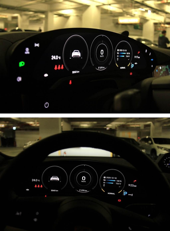 照明功能、循跡防滑、懸吊與車高快捷設定均為觸控式,但位在兩側視野會被方向盤擋到的地方。