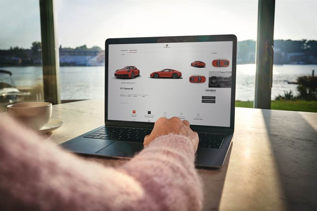 Porsche於歐洲擴大汽車線上販售服務