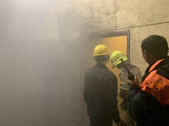 台中港台肥儲槽深夜火警 建物存大量錠子油消防緊張