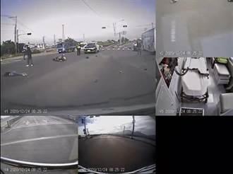 普通重機左轉撞紅牌重機 屏東44歲女騎士當場死亡