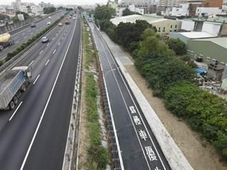 免繞道、舒緩壅塞 國道一號永康台20線增設兩側道路