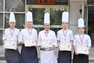 明道大學荷蘭國際廚藝挑戰賽 勇奪4金1銅
