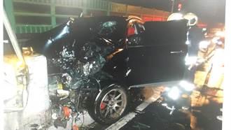 男子自撞高架匝道口 送醫搶救仍不治身亡