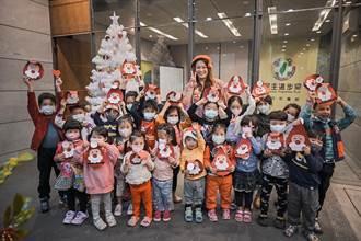 民進黨新竹市黨部推出耶誕手作課程 陪孩子度過耶誕節前夕