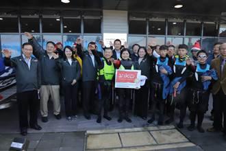 全台唯一经国际IKO认证 云林启用国际风筝衝浪学校