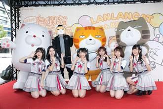 AKB48 Team TP團員樂當貓奴見「白爛貓」喊興奮