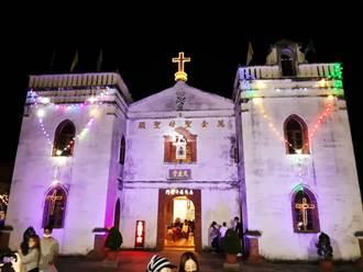 耶誕夜萬金聖母聖殿好熱鬧 萬金化身耶誕村