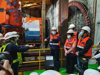 萬大中和線潛盾機明年啟動鑽掘  第一期拚2025年完工