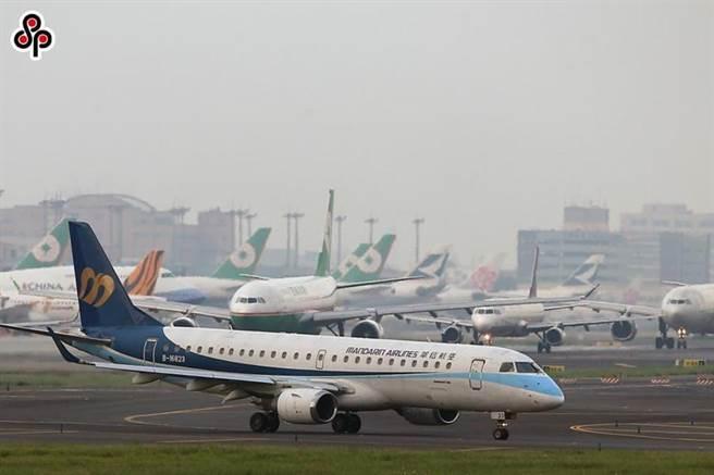 (圖為機場一景。圖/本報資料照片)