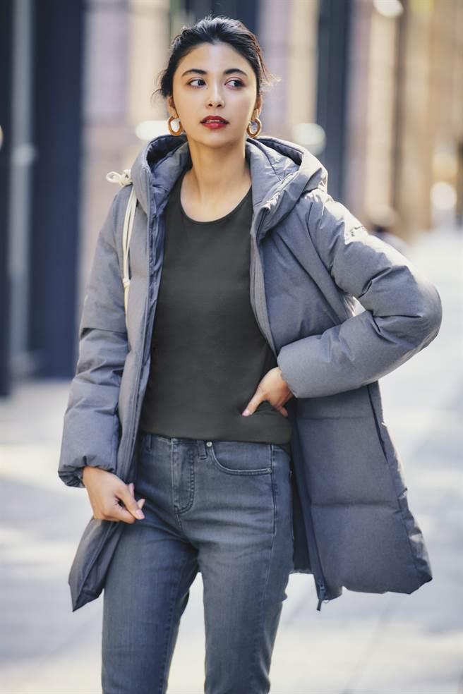 針對都會上班族跨年晚會,把握一加一輕鬆穿搭就能保暖又時尚。(圖/品牌提供)