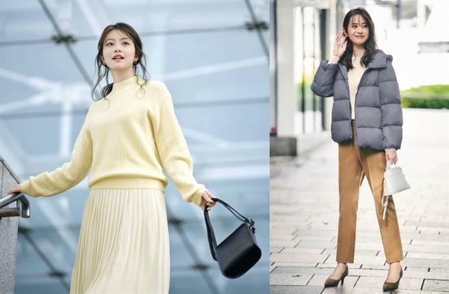 UNIQLO從12/25至1/7超過千款日本高機能禦寒商品下殺5折起,更連早春新品針織與厚T都同步登場。(圖/品牌提供)