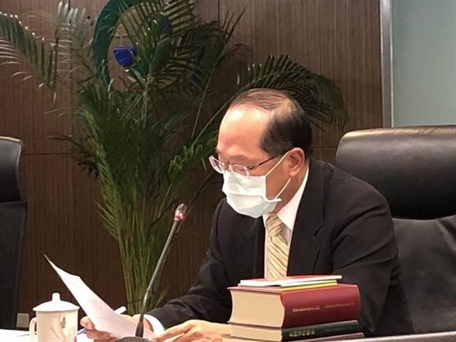 銀行局副局長林志吉表示,壓力測試結果可能影響2021年的股利政策。(圖/魏喬怡)
