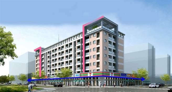 彰化縣政府規劃首座青年住宅,最大突破在一樓沿街規劃店。(彰化縣政府提供/吳敏菁彰化傳真)鋪