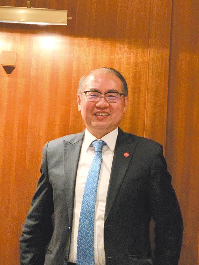 台灣彩券總經理蔡國基。圖/黃惠聆