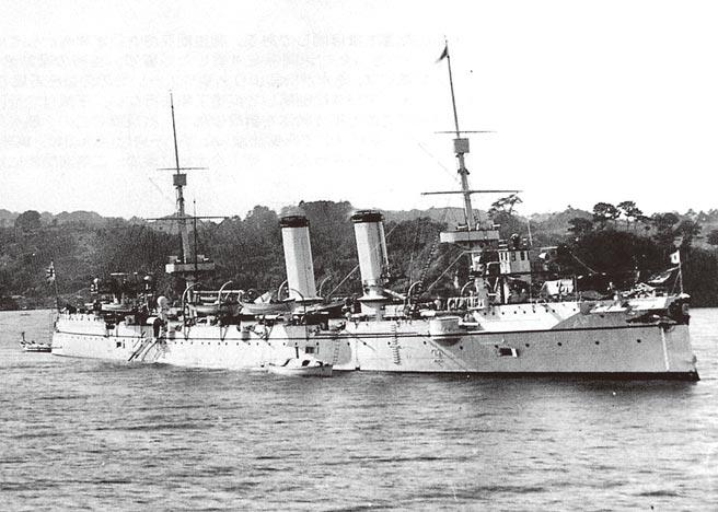 日本巡洋艦吉野。(時報出版提供)