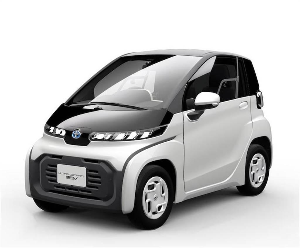 40 萬元的 Toyota 電動車!百公里續航鎖定都會通勤,2021 年正式上市