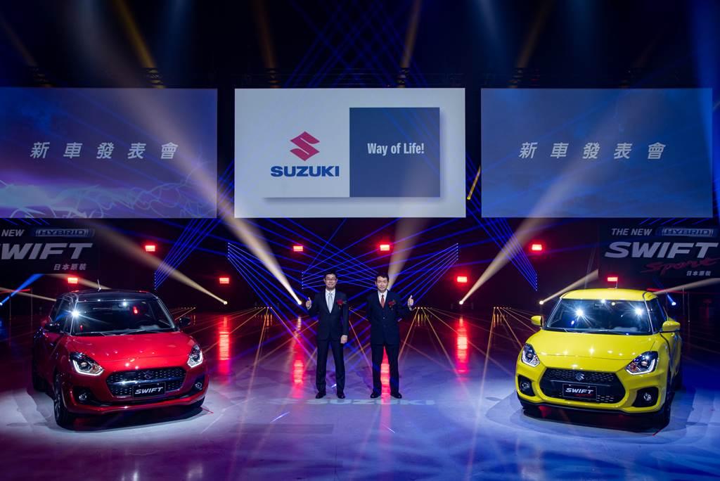 SUZUKI油電二部曲 SWIFT/SWIFT Sport 70萬元起上市