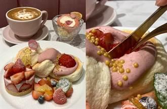 福岡人氣鬆餅冬季限定草莓舒芙蕾生乳捲 雙重美味一次擁有