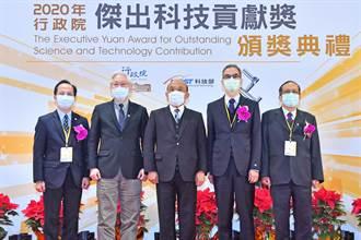 頒傑出科技貢獻獎  蘇揆:期許傳承學習 讓台灣更有力