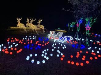 點亮台中耶誕夜!麋鹿雪橇、耶誕樹與小禮物繽紛亮相
