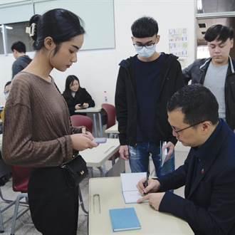 大學生提問羅智強 不解媒體為何只會監督在野黨