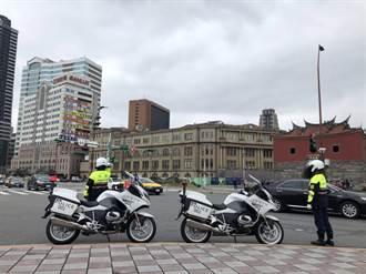 年關將至大型活動多 北市警成立快打部隊疏導交通