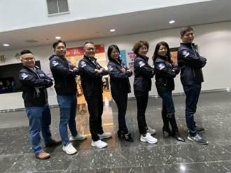 中市國民黨團新戰服 飛行夾克展現戰鬥力