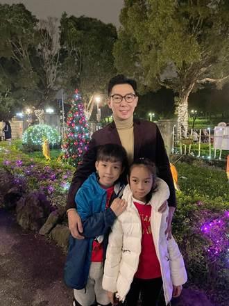 品冠身兼母職帶小孩過耶誕節 大呼媽媽真偉大