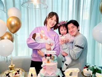 王祖藍二女兒超清正面曝光 基因不騙人「鼻子像複製貼上」