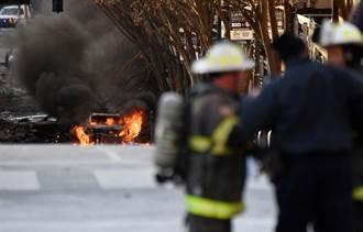 美田納西納希維爾市聖誕節驚傳爆炸 警方朝蓄意犯案偵辦