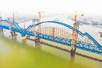 南沙港鐵路建設 邁向衝刺階段